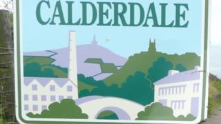 Calderdale sign