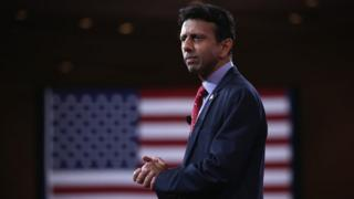 Louisiana Governor Bobby Jindal addresses the 42nd annual Conservative Political Action Conference (CPAC) February 26, 2015 in National Harbor, Maryland.