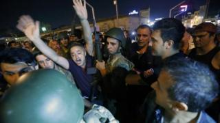 Аресты в Турции