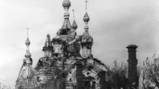 Разрушения в Ярославле в дни эсеровского восстания 1918 года