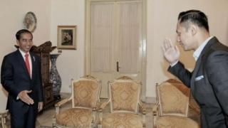 jokowi dan Agus Harimurti Yudhoyono