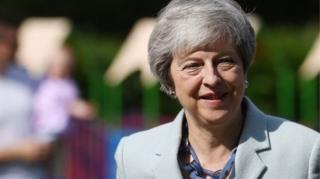 在脱欧沸沸扬扬3年无果,英国首相特雷莎·梅陷入困境