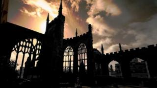 Coventry's ruined cathedral