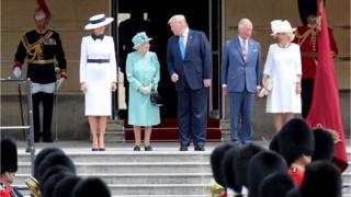 ترامپ در لندن