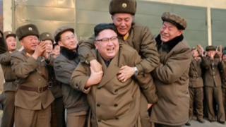 Kim Jong-un em foto de 19 de março de 2017