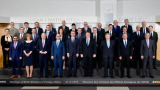 پومپئو و وزیران خارجه