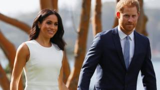 Meghan and Prince Harry in Australia