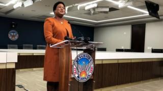 Atlanta City Council president Felicia Moore