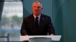 Greg Clarke, le président de la Fédération anglaise de football