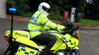 police motorbike