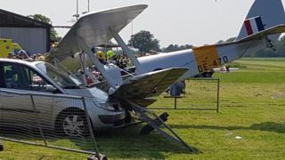 Brimpton Airfield crash