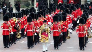 Солдати - учасники параду