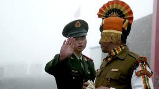 چینی، انڈین فوجی