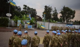 Украинские миротворцы в ДР Конго