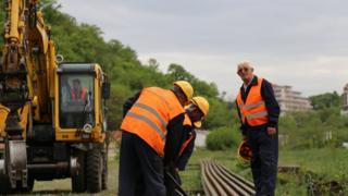 中國中土集團承建了塞爾維亞鐵路修複改造項目。