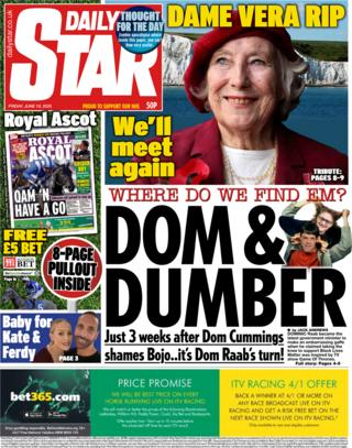 Daily Star 19 June