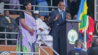 Paul Kagame yarahiriye kuyobora u Rwanda muri manda ya gatatu
