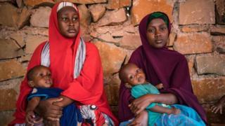 Watoto wanaokabiliwa na uapia mlo nchini Somalia