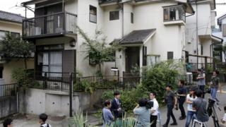 Home of suspected attacker in Sagamihara, Japan (26 July 2016)