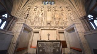 Henry V's private chapel