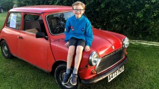Remy and the Mini