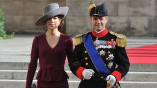 Crown Princess Mary of Denmark and Crown Crown Prince Frederik of Denmark of Denmark in Luxembourg (20 October 2012)
