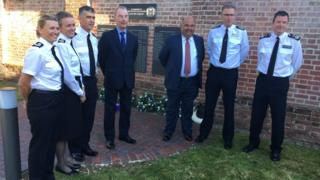 Hampshire's past and present police chiefs and deputies