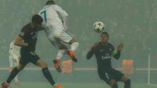 Cristiano Ronaldo lokacin da ya ci wa Real Madrid ta farko