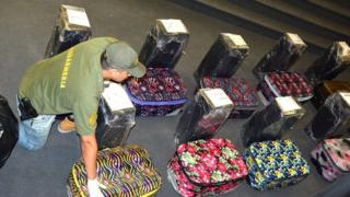 Майже 400 кг кокаїну помістили у 16 сумок