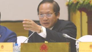 Nguyên Bộ trưởng Trương Minh Tuấn đã bị kỷ luật bằng hình thức cảnh cáo