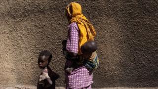 Женщина в Нигерии