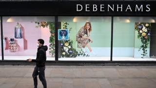 environment Debenhams store