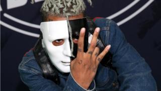 Rapper XXXTentacion attends the BET Hip Hop Awards 2017, in Miami Beach, 6 October 2017