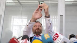 Михайло Добкін у суді