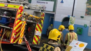 BCFM Fire incident