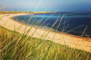 Beach in Northumberland