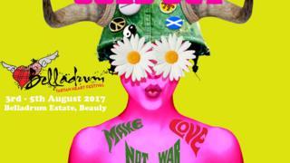 Belladrum Tartan Heart Festival poster