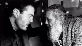 Tom Burke and Alan Moore