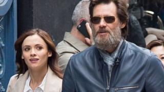 Cathriona White ve Jim Carrey