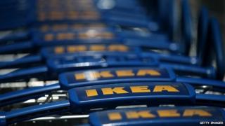 Ikea trolleys