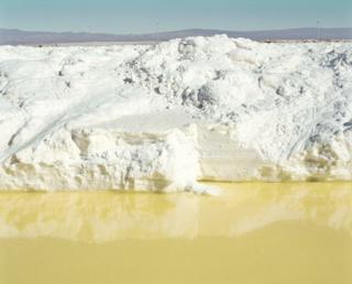 Lithium mine in the Atacama Desert.