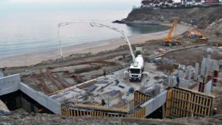 Gradilište na bugarskom primorju