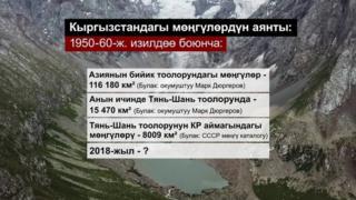 Дүйнөдөгү эң чоң мөңгү жана суу запастары Кыргызстандын аймагында.