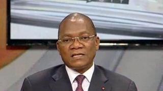 Le porte-parole du gouvernement, Bruno Koné