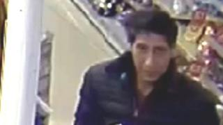 """CCTV image of """"Ross from Friends lookalike"""""""