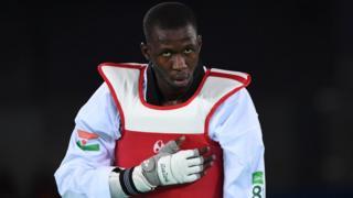 Issoufou Alfaga Abdoulrazak défendait le Niger au championnat du monde de taekwondo en Corée du Sud.