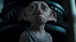 House elf Dobby in the Harry Potter films