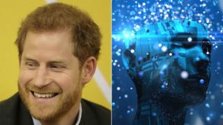 Prince Harry and artificial intelligence generic image