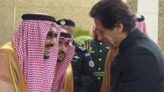 सऊदी अरब के शाह और इमरान ख़ान