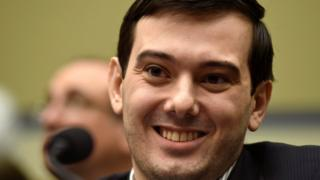 File photo of former drug executive Martin Shkreli